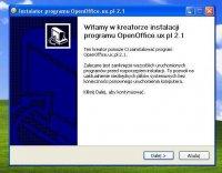 Instalacja OpenOffice
