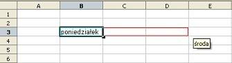 Automatyczne wstawianie danych - Openoffice Calc