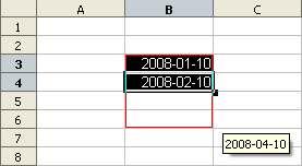 Wprowadzanie daty - Openoffice Calc