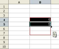 Wstawianie stałej wartości - Calc Openoffice